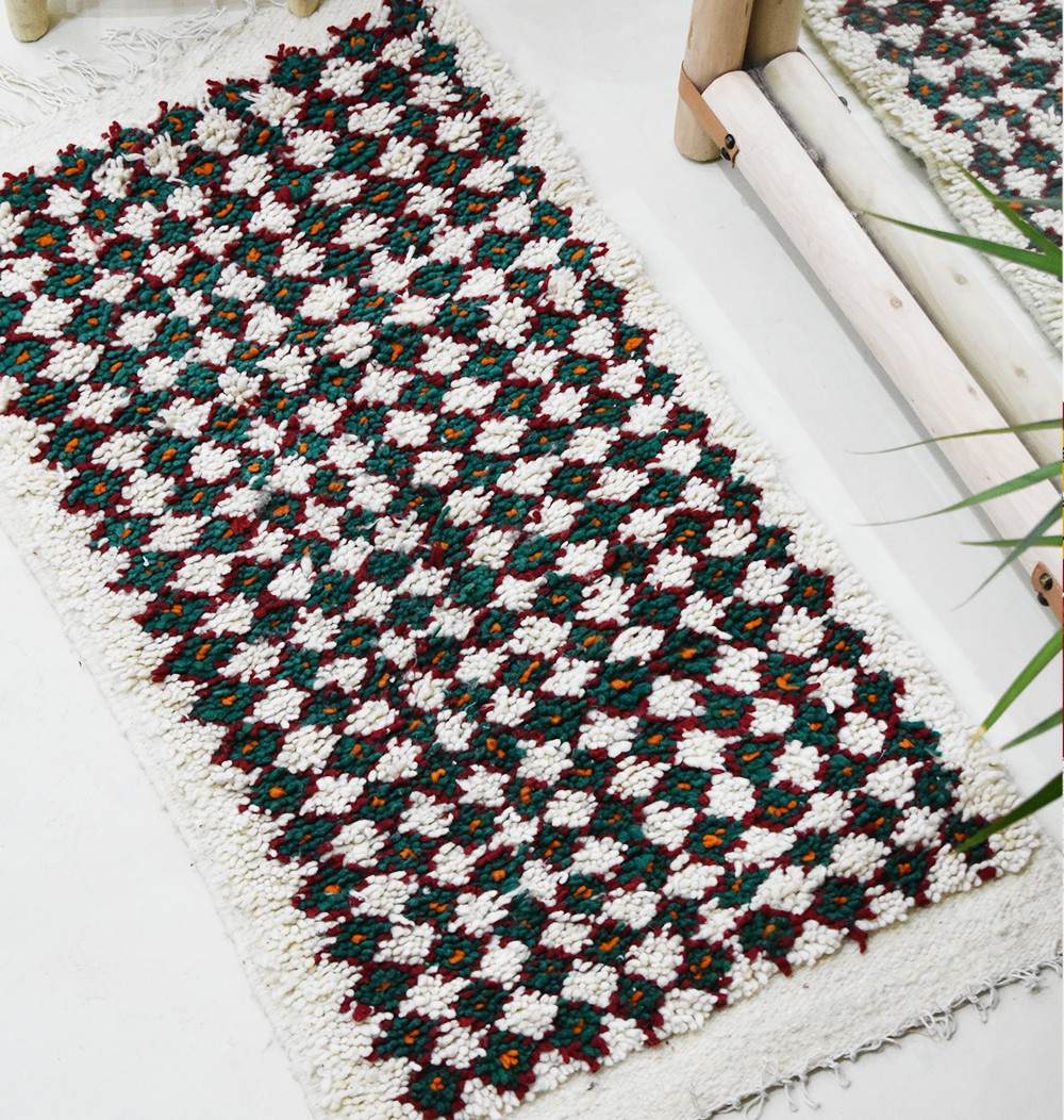 Tapis Azilal Moucharabieh