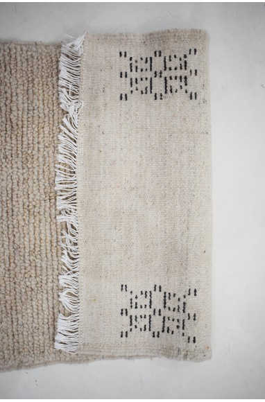 Tapis Beni Ouarain petit Cinq motifs