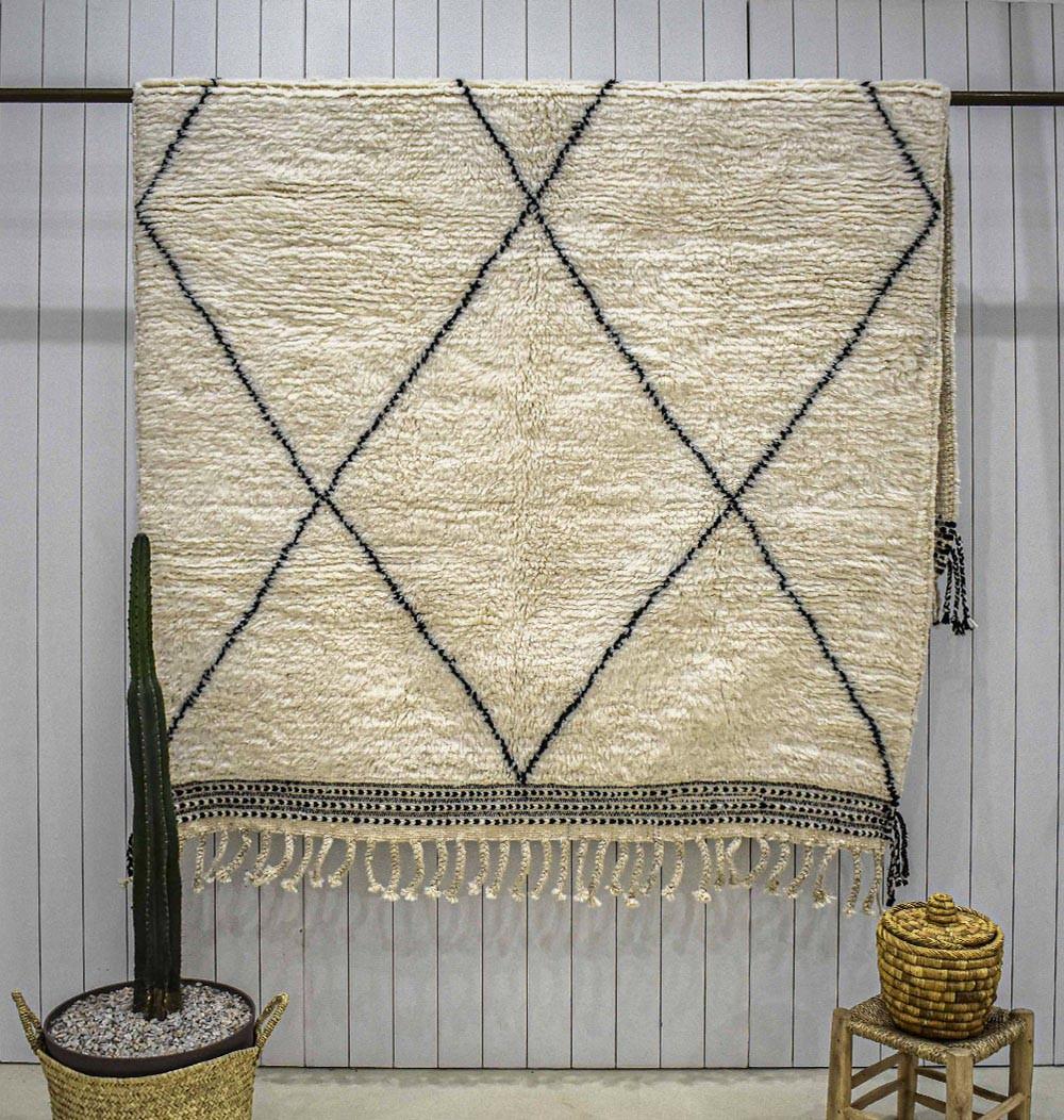 Beni Ouarain carpet longer than wide