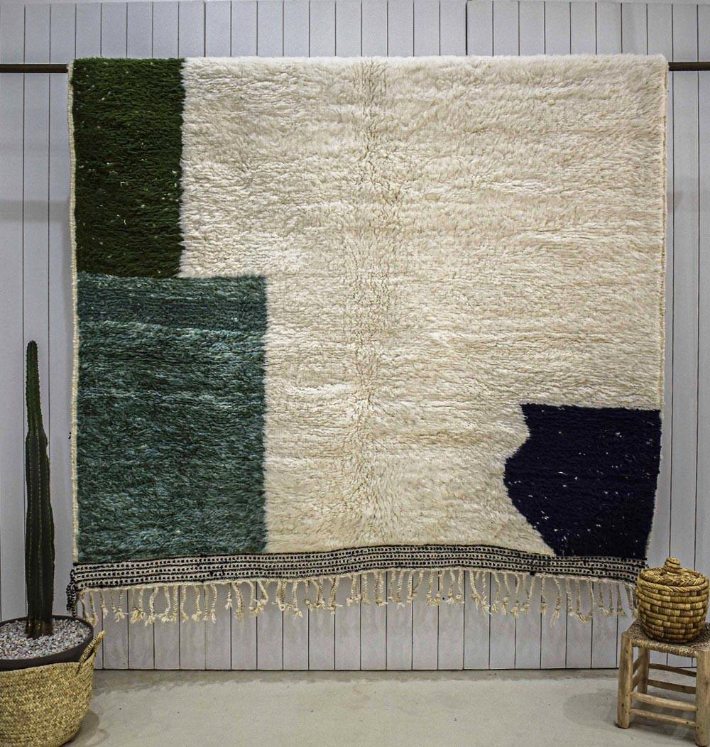 Mrirt Rug Large, Rectangle green