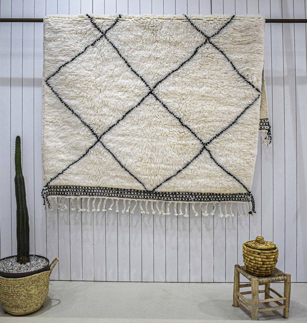 Beni Ouarain carpet medium diamonds