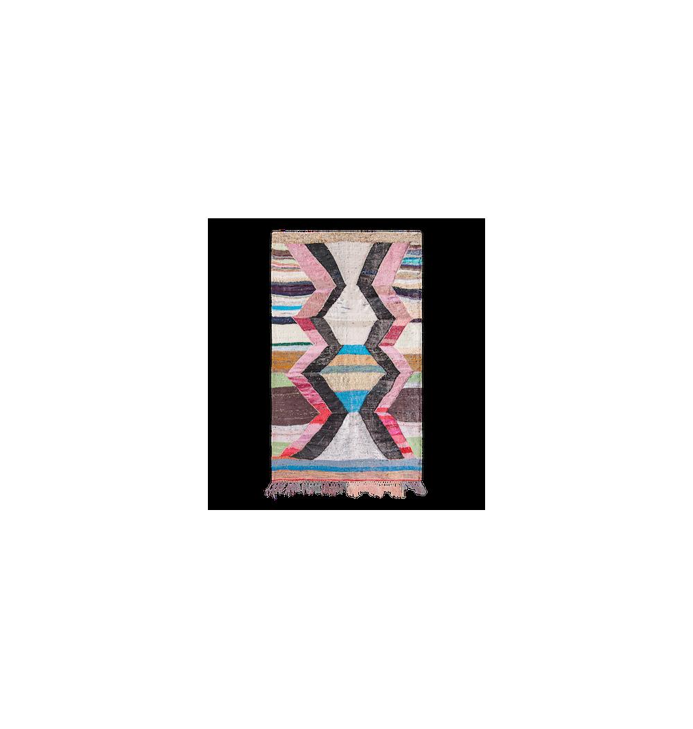 Tapis Kilim Rose – Style Ancien