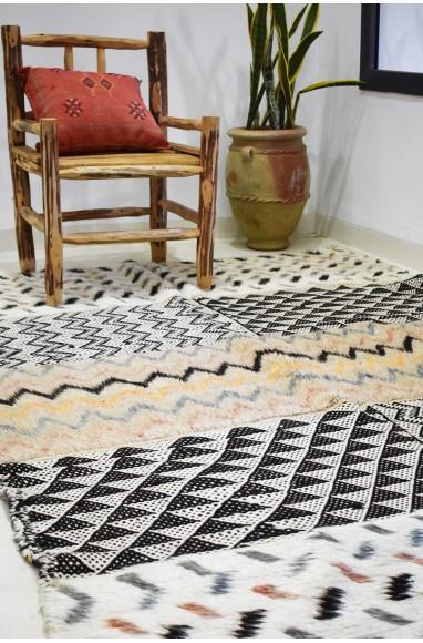 Large Vintage rug duel weaving