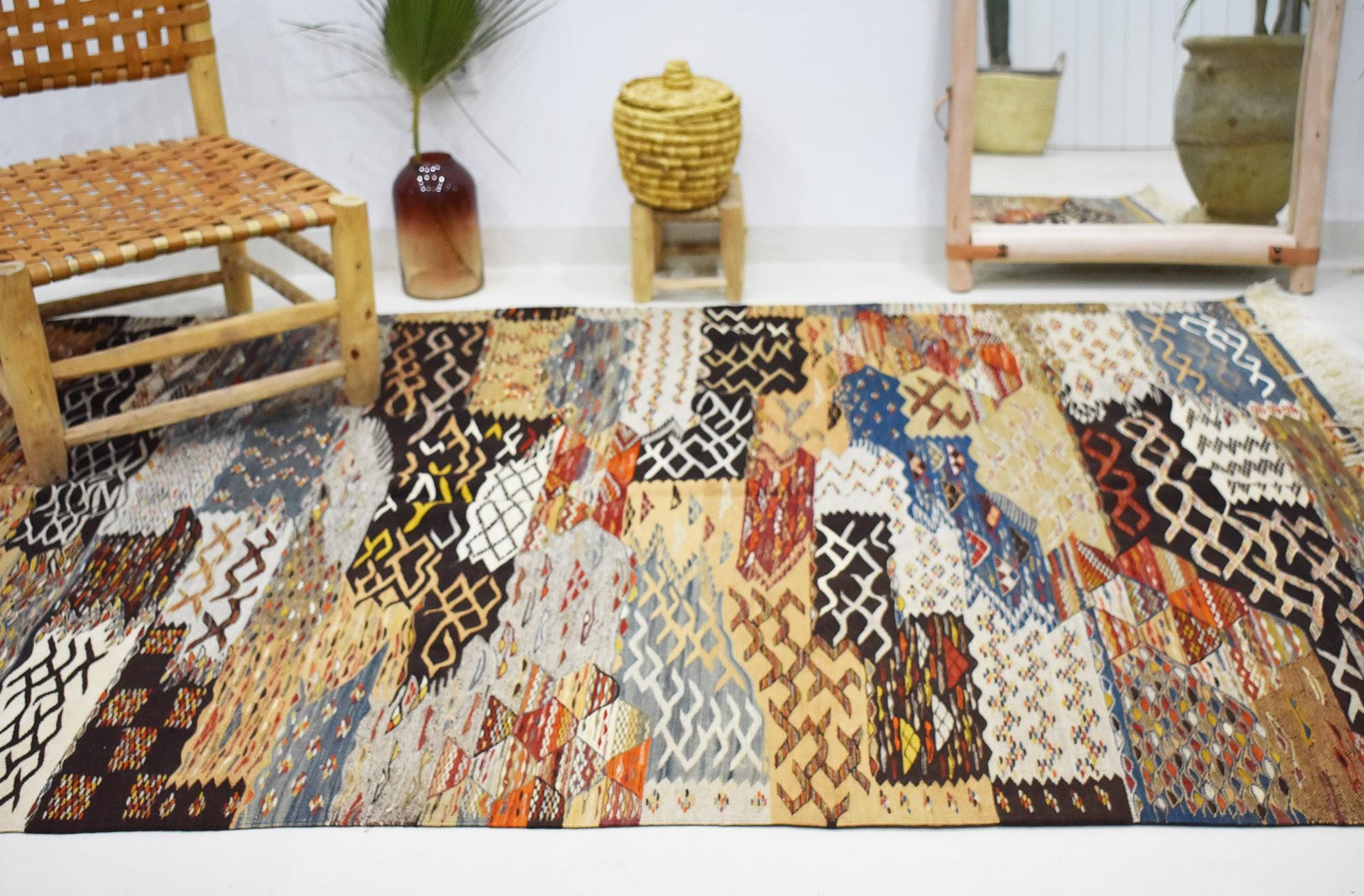 Large Vintage Mélange rug