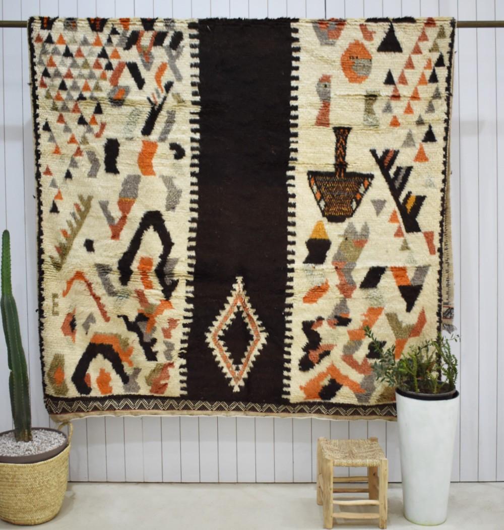 Grand tapis berbère Automne