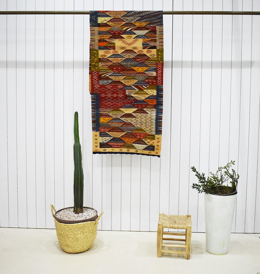 Berber carpet for Amazigh hallway