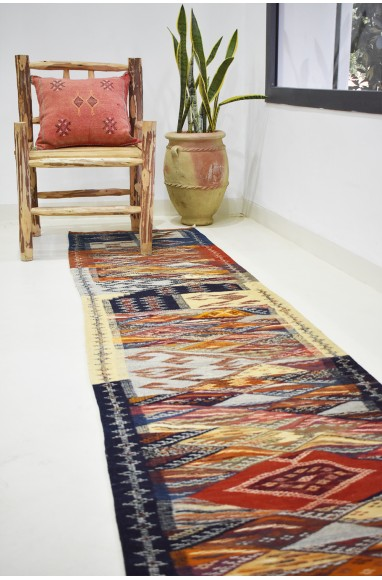Long Berber Nazca hallway carpet