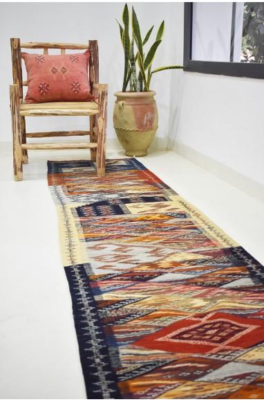 Long Tapis berbère de couloir Nazca