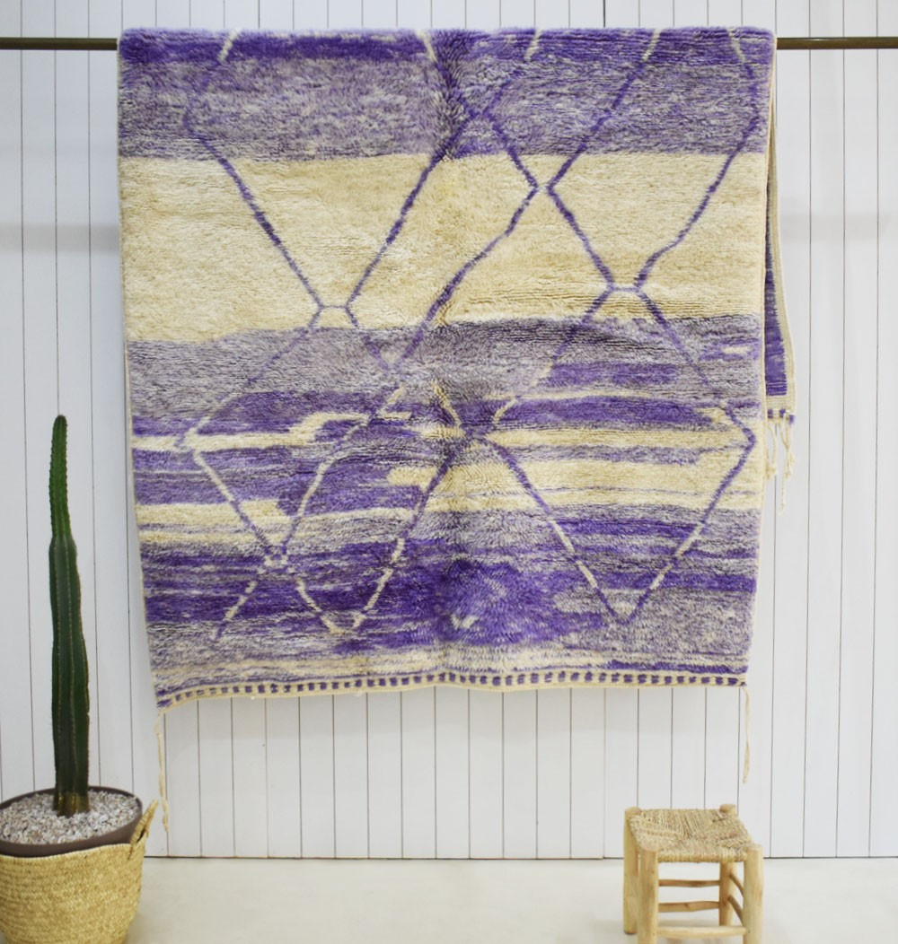 Mrirt rug Azur purple