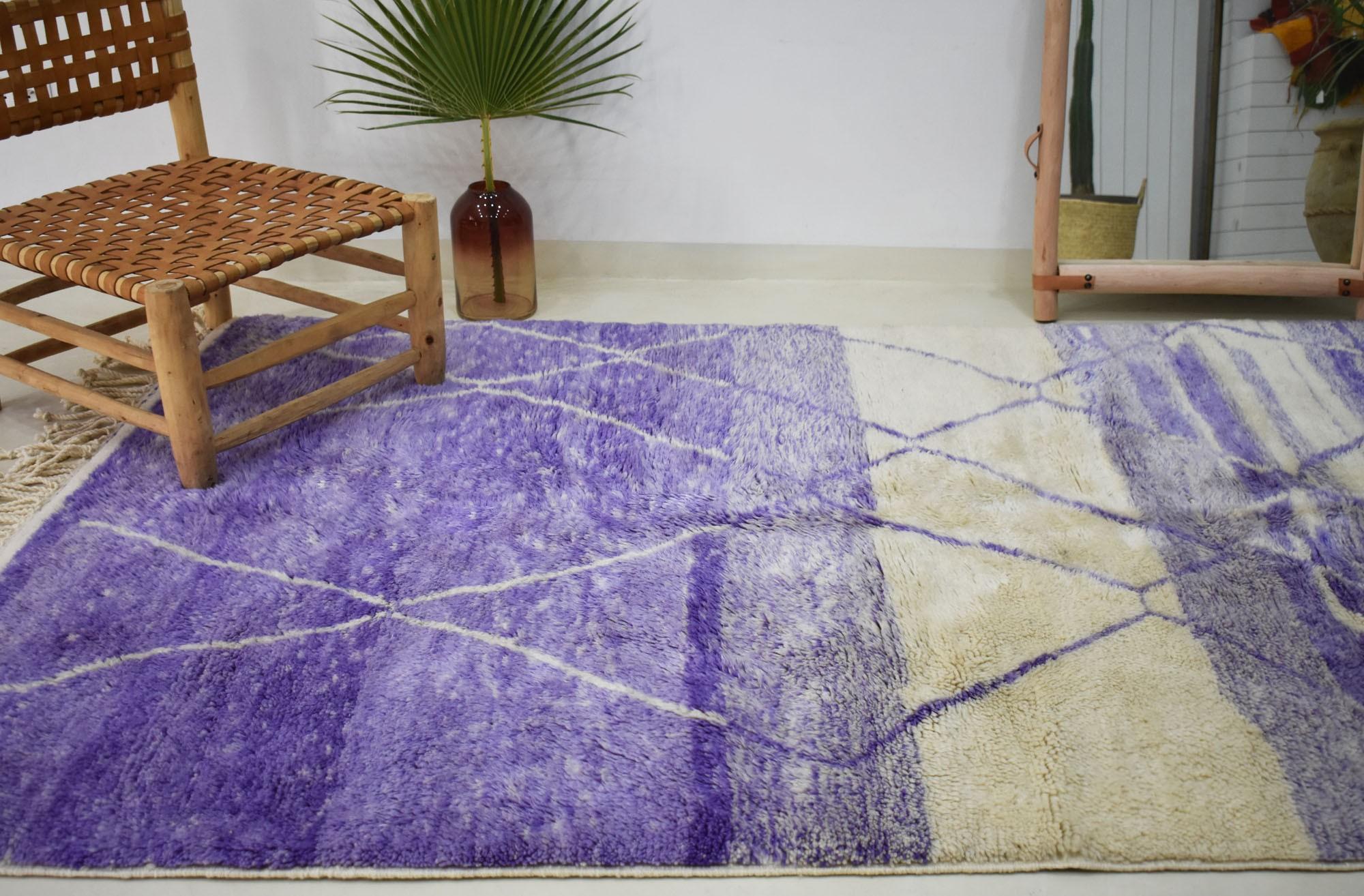 Tapis Mrirt Azur violet