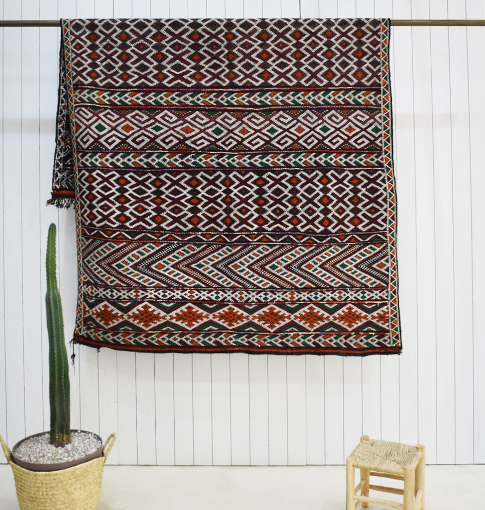 Vintage Multiplication Rug