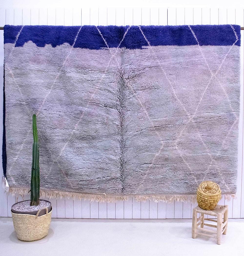 Vintage Violet 2-tone rug