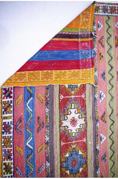 Tapis Vintage Aztèque colorés