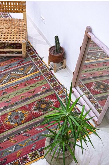 Colorful Aztec Vintage Carpets