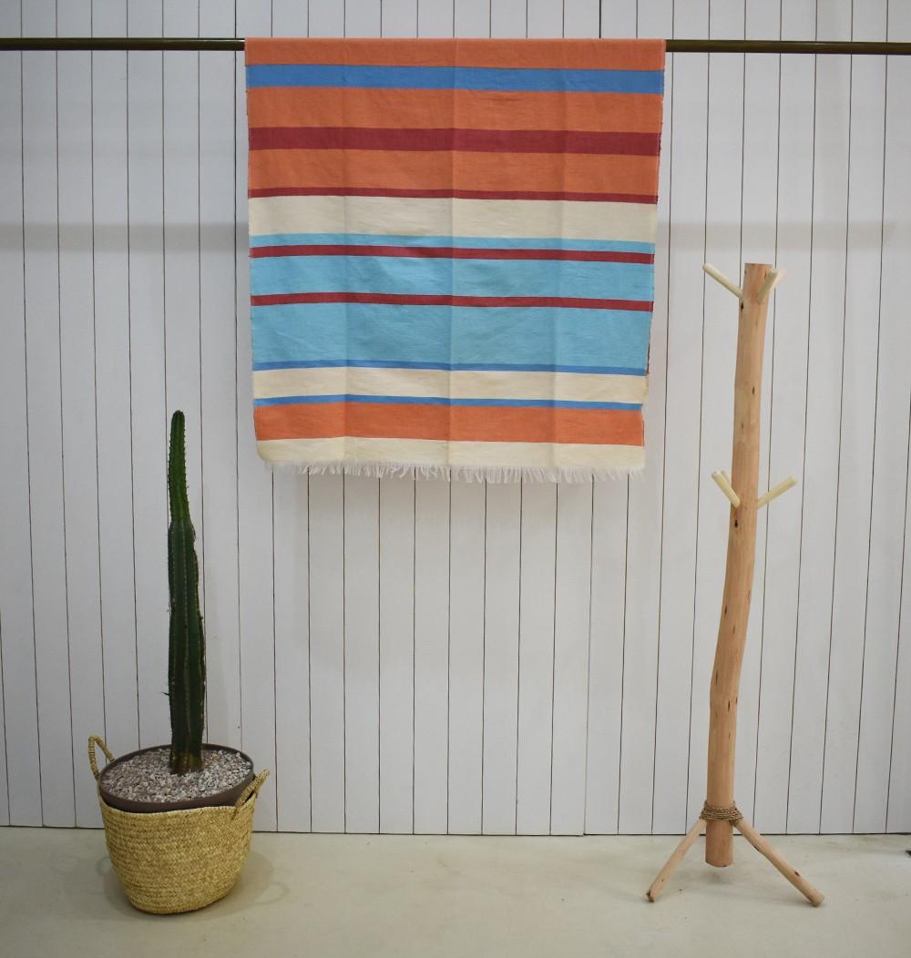 Colorful striped plaid