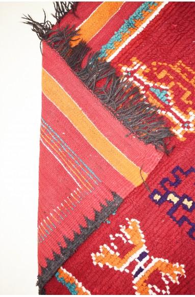 Vintage purple river rug