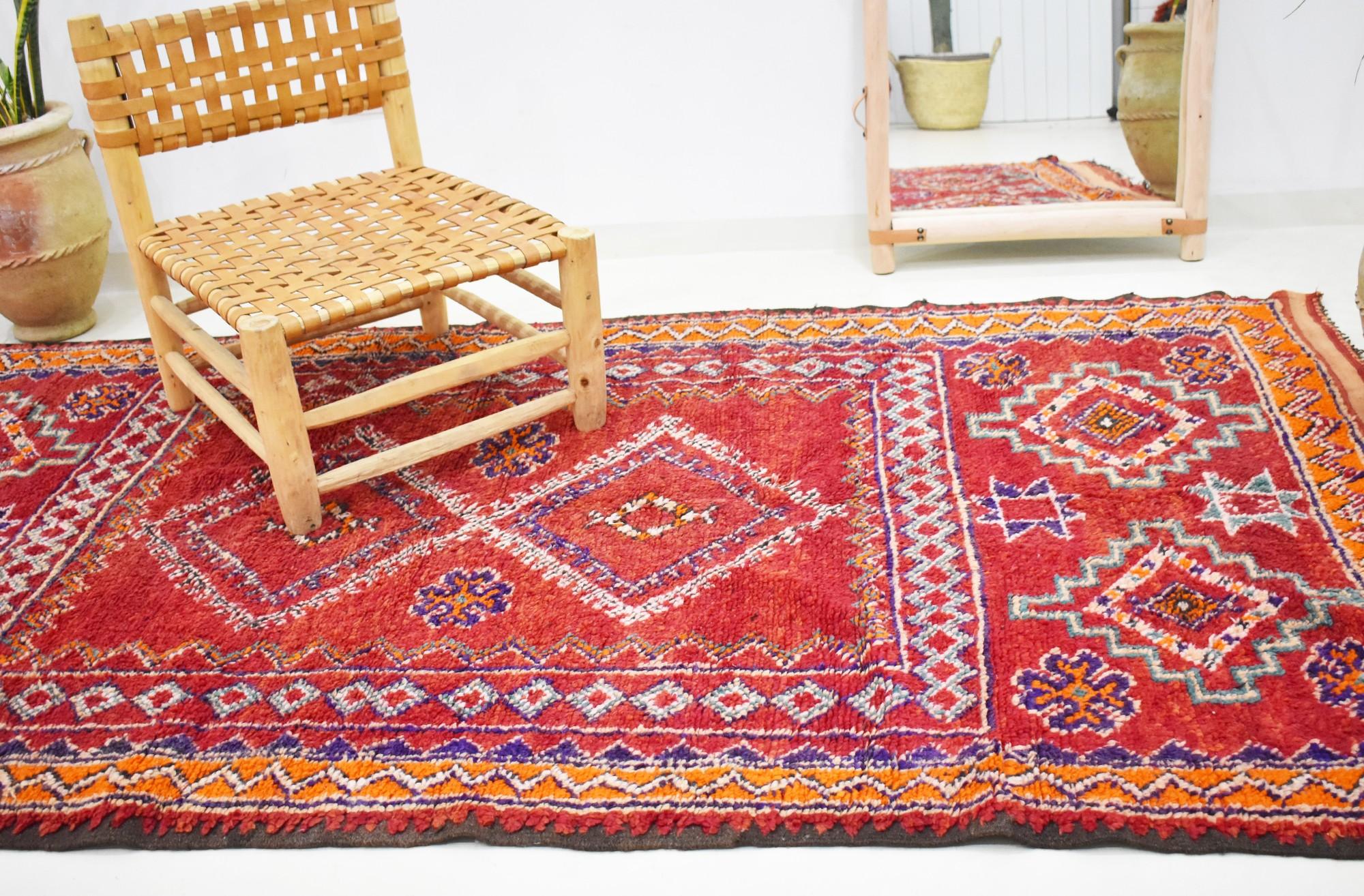Grand tapis vintage marocain