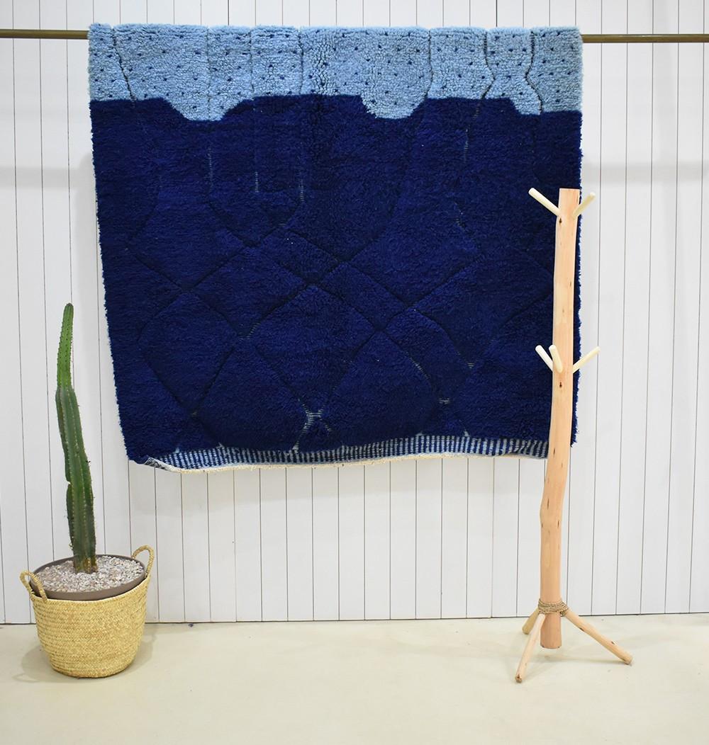 Vintage Rug Duo of blue