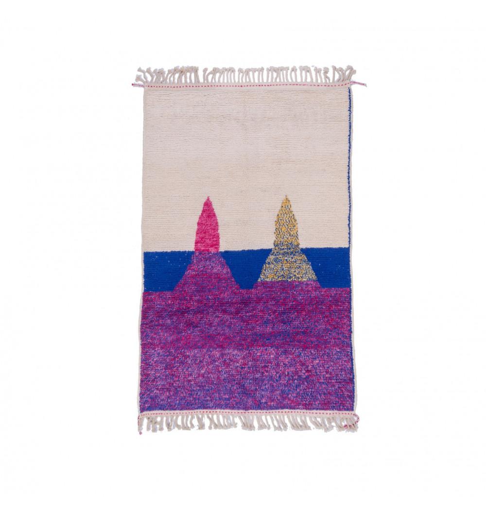 Taps Beni Ouarain fond tricolore