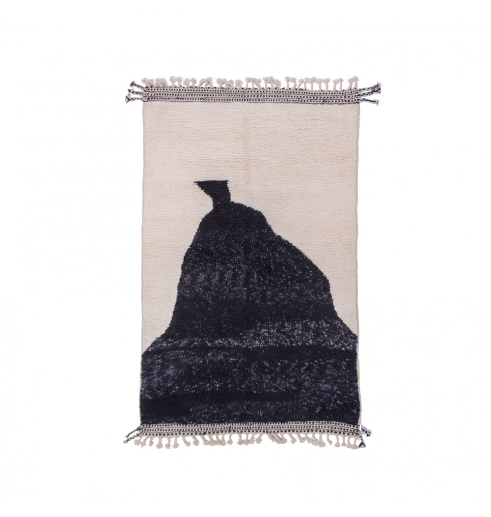 Carpet Beni Ouarain Bonnet heather gray