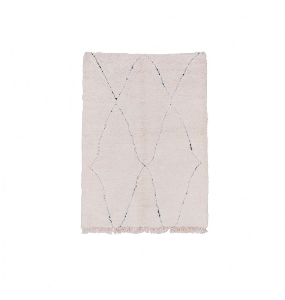 Beni Ouarain carpet 3 artistic diamonds