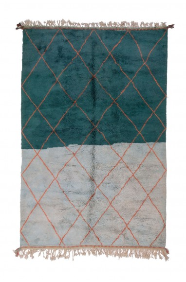 Tapis Vintage Quadrillage