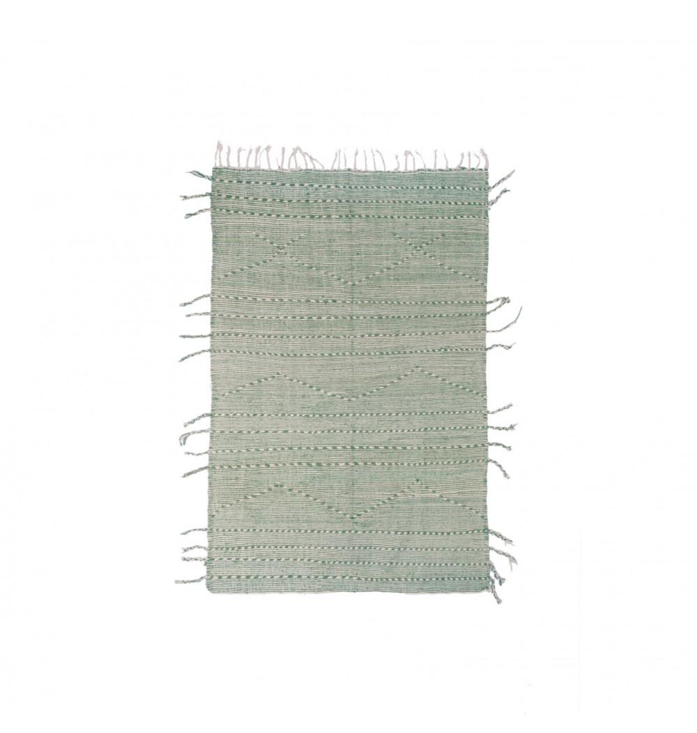 Kilim rug Gray / green
