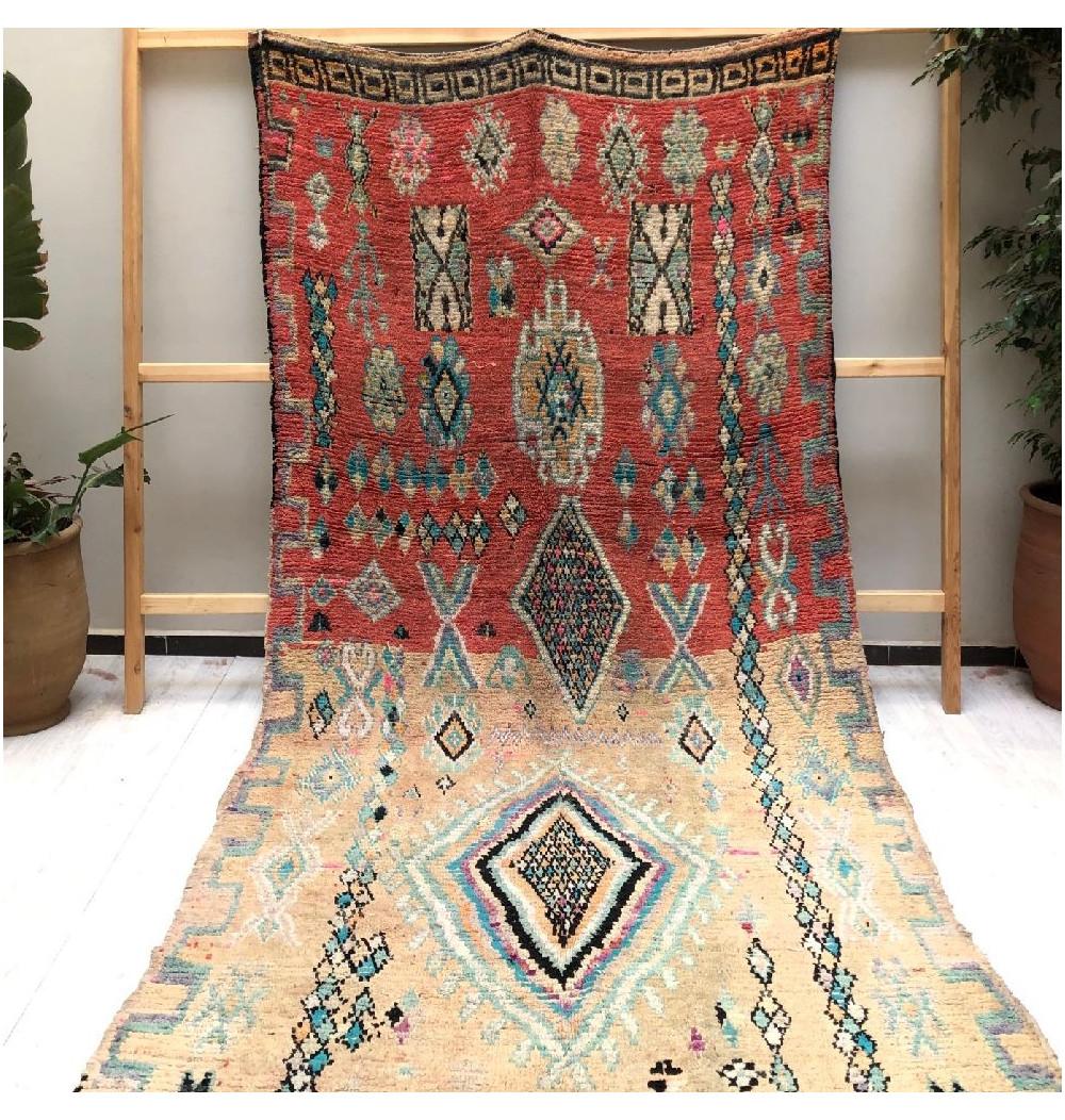 Vintage duo rose rug