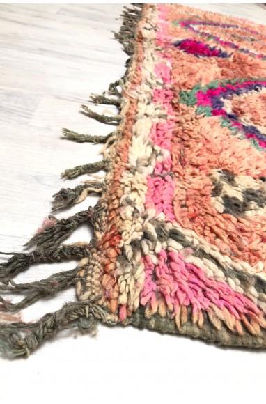 Vintage authentic berber carpet