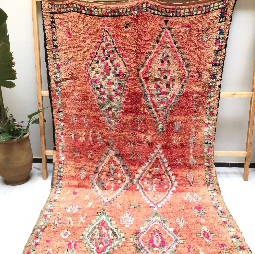 Vintage Berber Character Rug