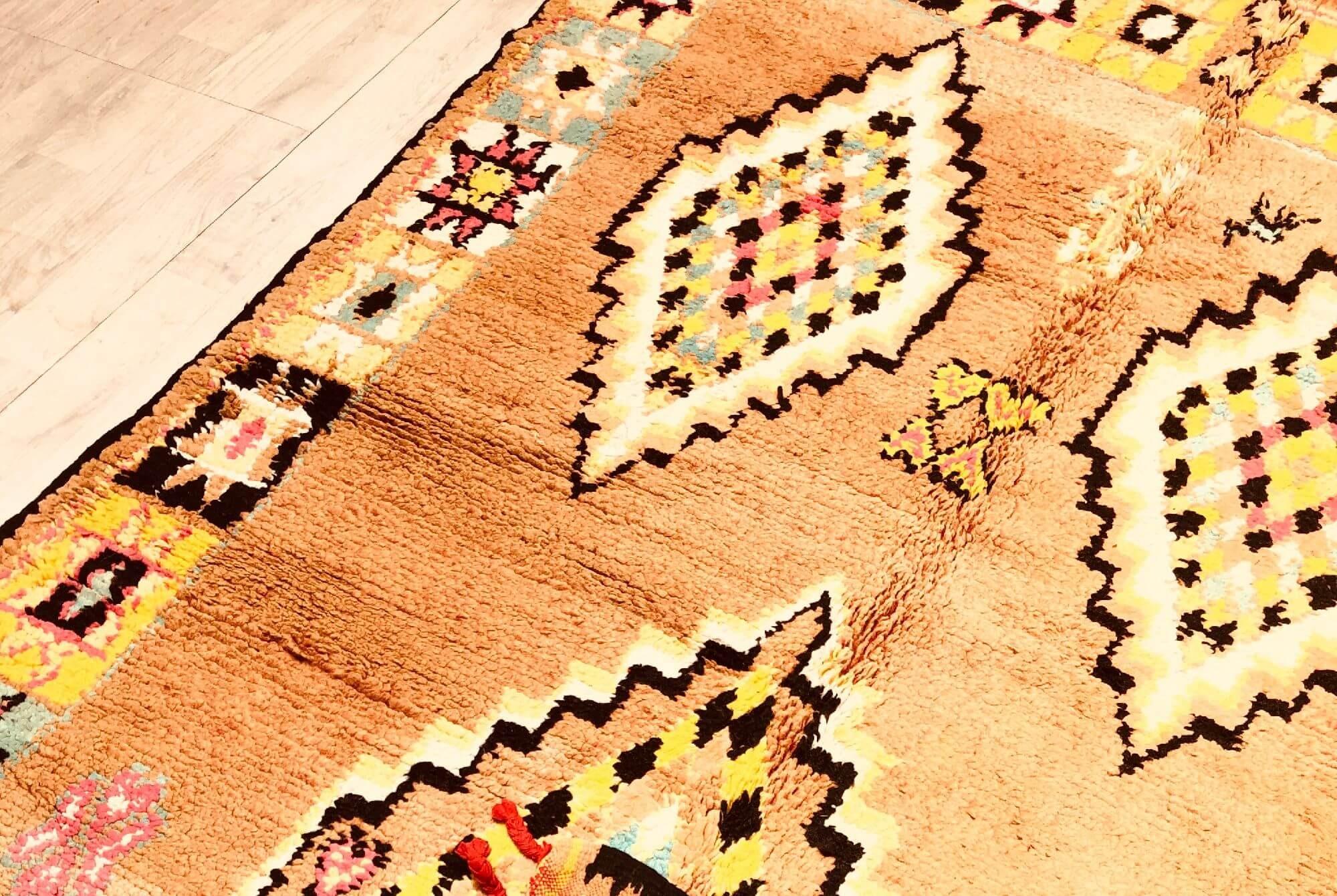 Vintage Berber Ethnic Rug