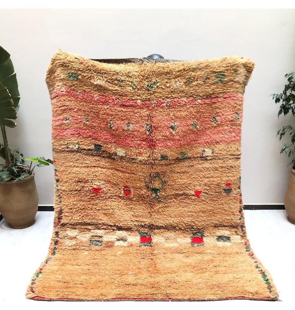 Vintage window-style rug