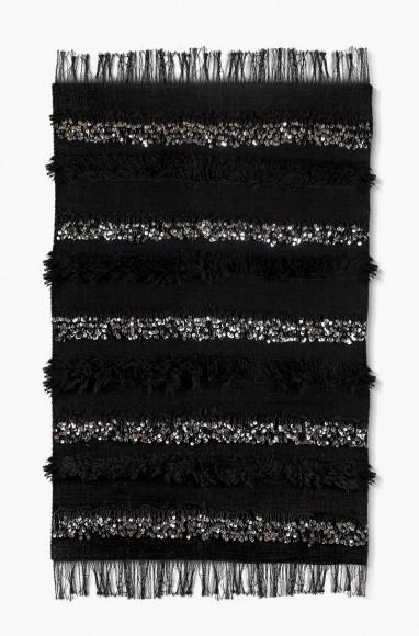 Handira berbère noir