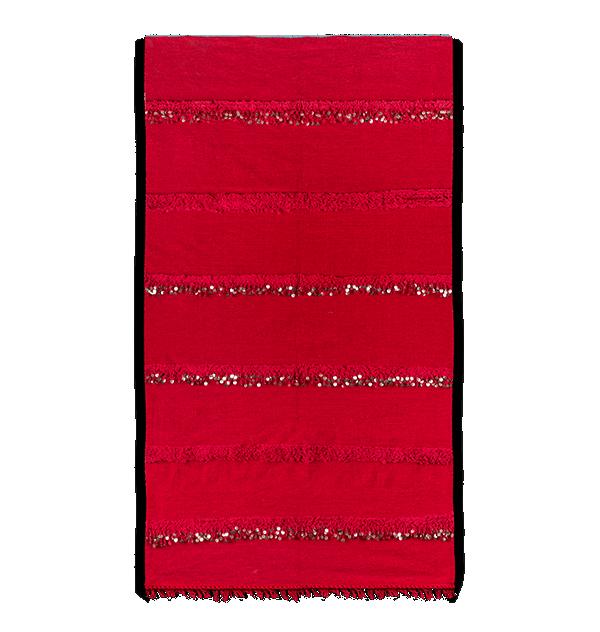 Red berber handira