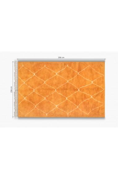 Orange pop Beni ouarain carpet