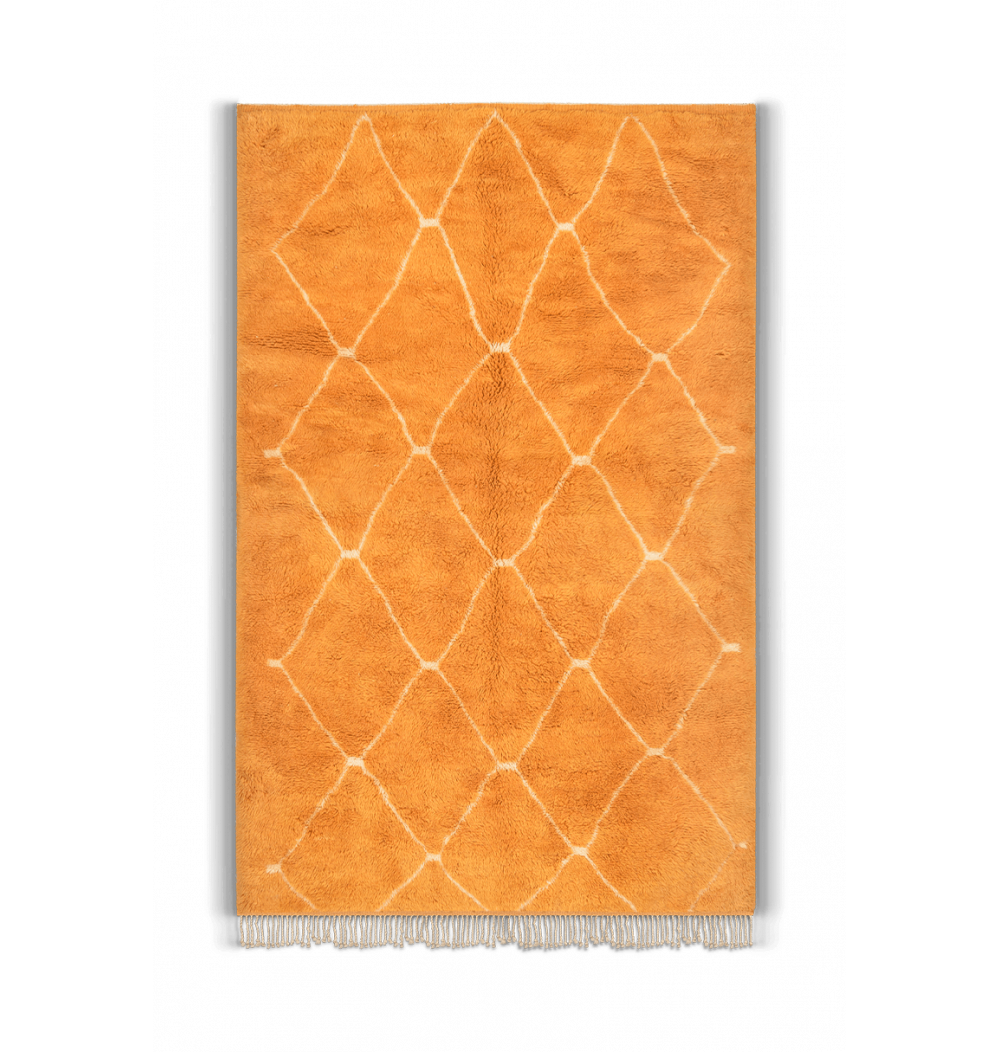 Tapis Beni Ouarain Orange pop