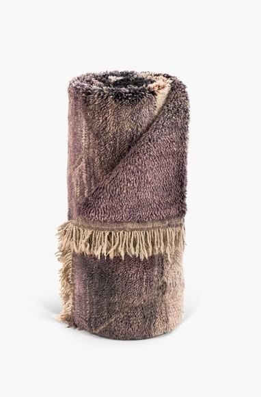 Royal violet mrirt carpet