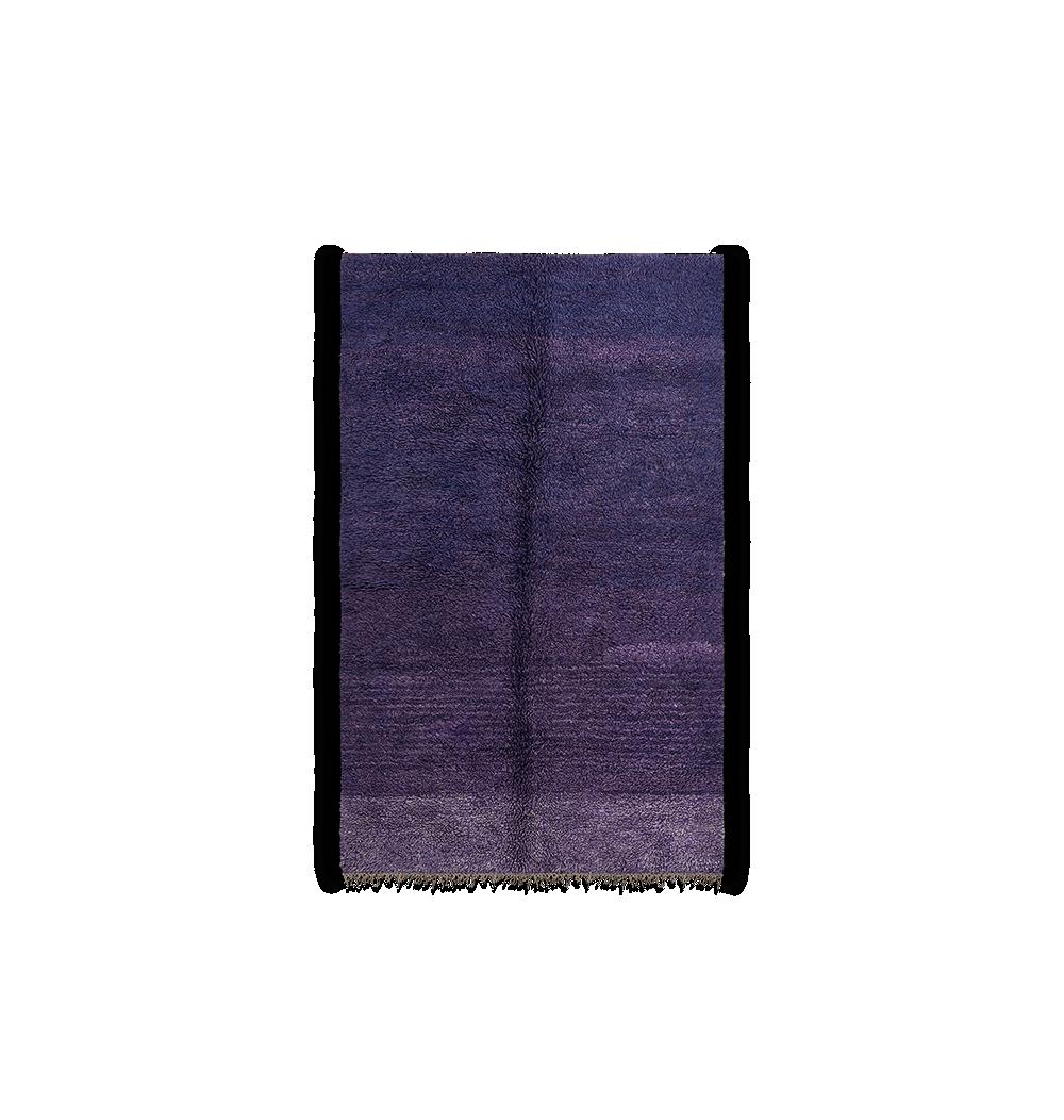 Tapis berbère bleu indigo