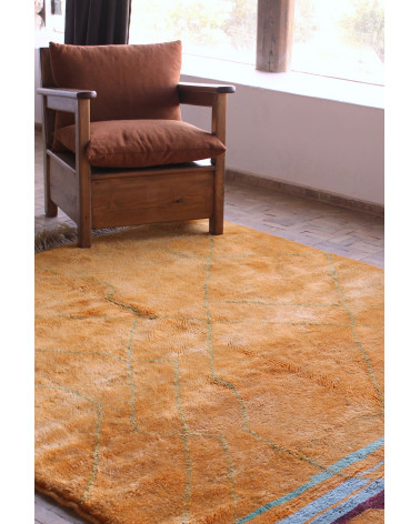 Tapis Mrirt Orange et coloré
