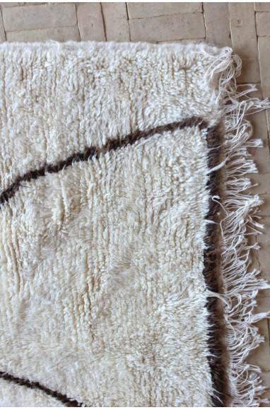 Tapis berbère azilal abstrait maroc