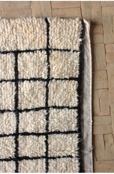 small brown and black Azilal grid