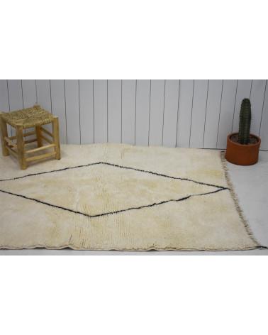 Berber Mrirt carpet white and black