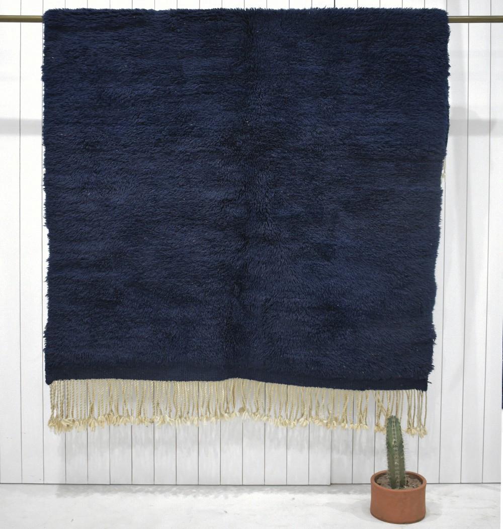 Night Blue Mrirt Carpet
