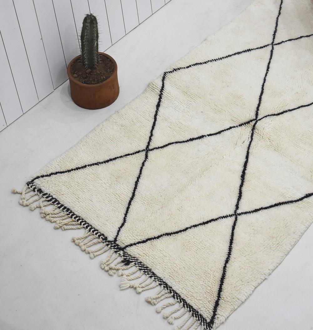 petit tapis Mrirt losanges