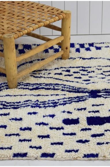 tapis berbere bleu azilal