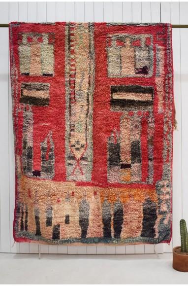 red berber carpet