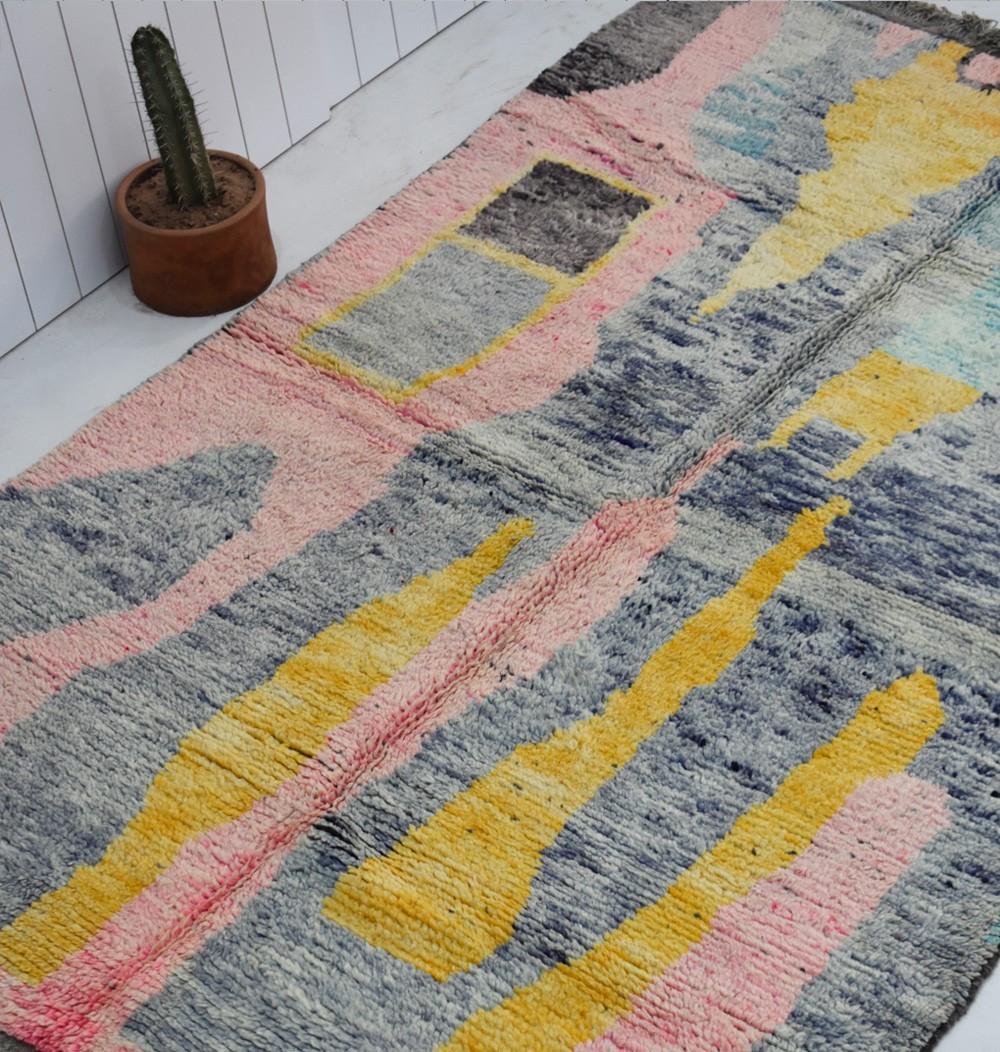 berber carpet with colors marrakesh