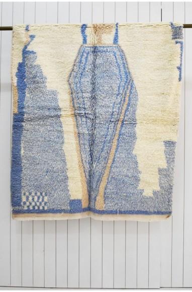 light blue azilal carpet