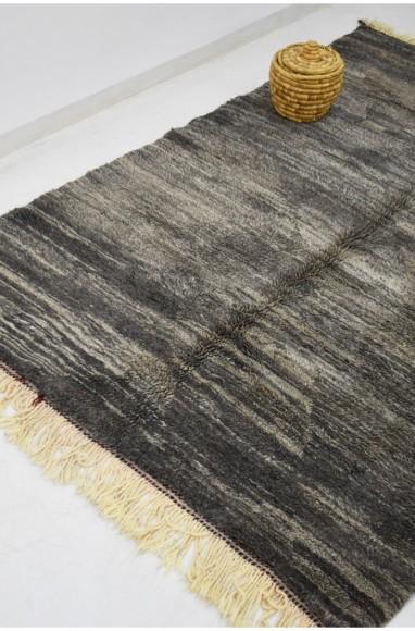 tapis berbère gris 155 x 235 cm