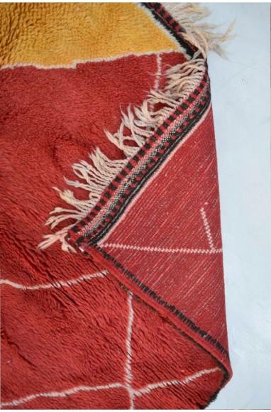 tapis berbère mrirt rouge 160x260 cm
